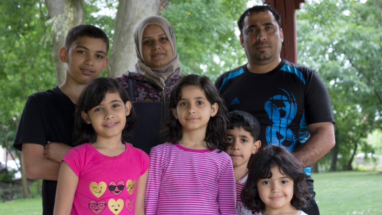 After fleeing the war in Syrian, this family is starting over - in rural Pennsylvania.
