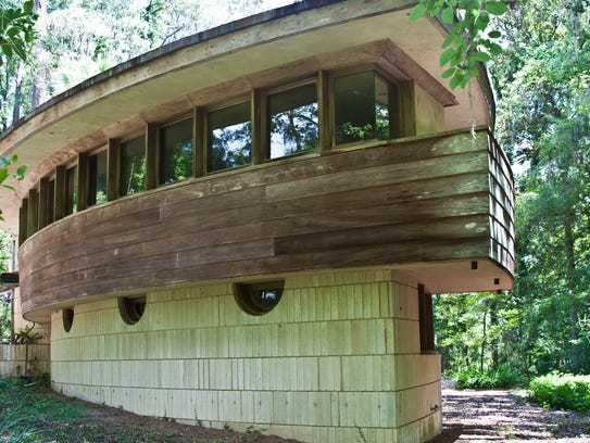 Spring House, designed by Frank Lloyd Wright, is open