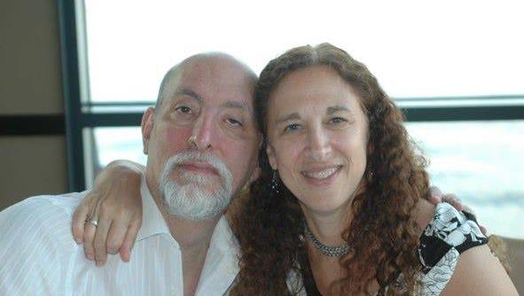 Cynthia Goralnik with her husband, Gary Goralnik.