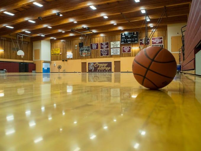 Crazy Horse High School gym Monday, July 16, 2018.