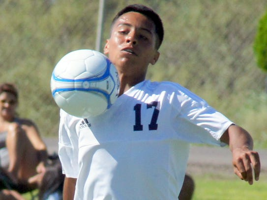 Sophomore Wildcat Antonio Arevalos, a first-year player,