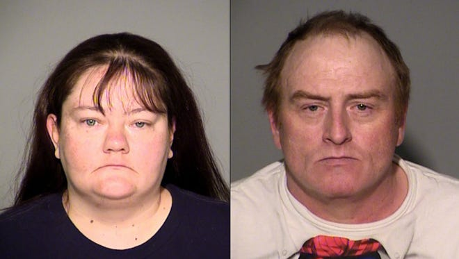 Lavonne Kelley (left) and John Kelley each face a felony count of neglect of a dependent resulting in serious bodily injury. They are accused of failing to seek proper medical treatment for their 18-year-old daughter, Linda.