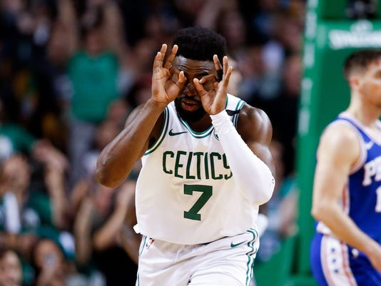 NBA: Playoffs-Philadelphia 76ers at Boston Celtics