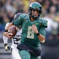 Oregon's Marcus Mariota has led the USA TODAY Sports Heisman Survey for the past five weeks.