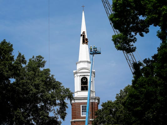steeple removal