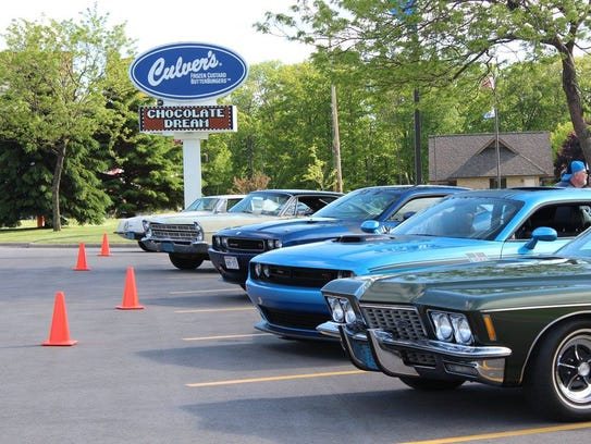 The Manitowoc Culver's will host a Classic Car Cruise-In