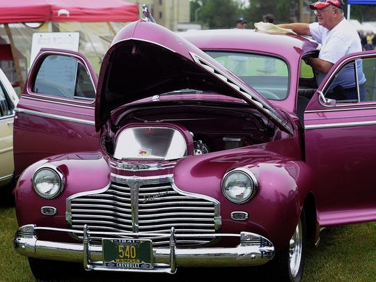 """The fifth annual """"Cruise-In"""" Car Show is part of this year's Cranberry Blossom Festival events."""