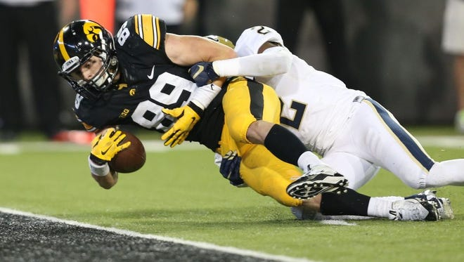 Matt VandeBerg is a top player for the University of Iowa Hawkeyes.
