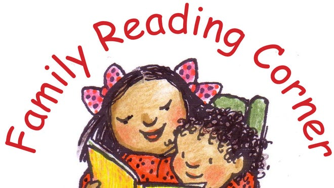 The logo for the Family Reading Partnership's Family Reading Corner
