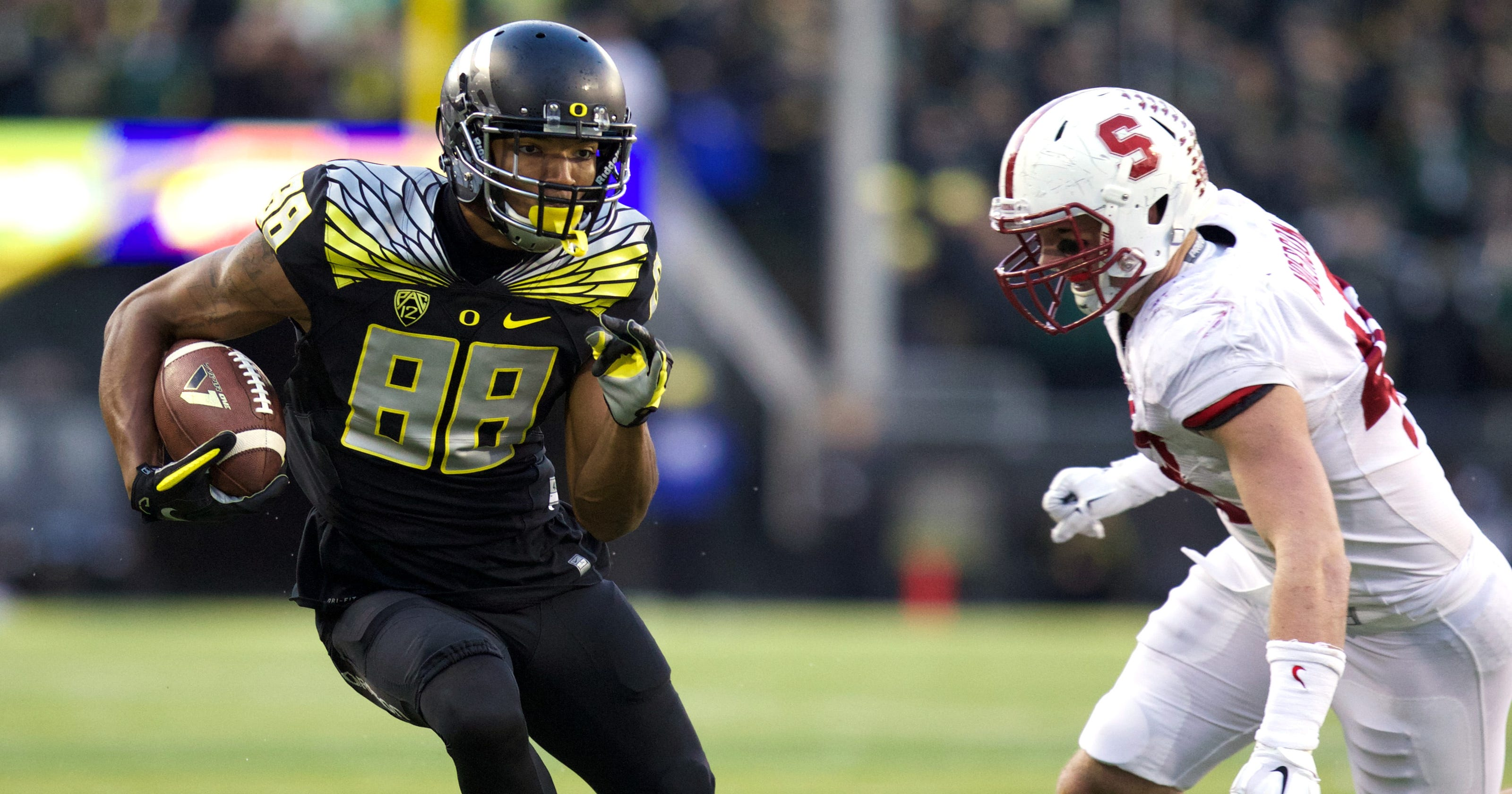 Wide receivers made Oregon s biggest question its greatest strength 97bbdec54