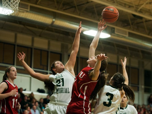 CVU vs. Rice Girls Basketball 12/19/14
