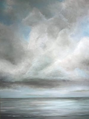 """The Art Center of Corpus Christi hosts the exhibit """"Artist in Residence: Jacob Augsburger"""" through July 28. The works were created during Augsburger's five-day stay at Laguna Madre Field Station."""