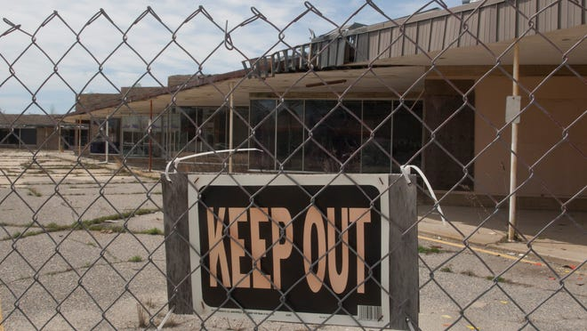 The Beachwood Shopping Center on Route 9 in Berkeley will finally be torn down, probably as early as the first week of May.