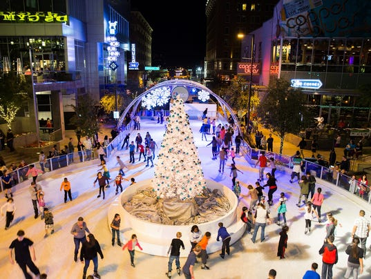 Guide To Outdoor Ice Skating Rinks Around Phoenix