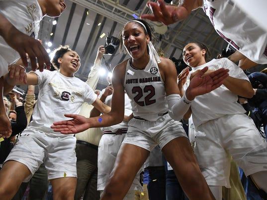 South Carolina Mississippi State SEC women's basketball tournament championship