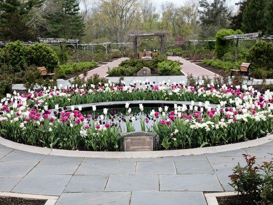 Tour The Rudolf W. van der Goot Rose Garden PHOTO CAPTION
