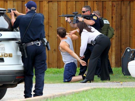 Burk Police Standoff 1
