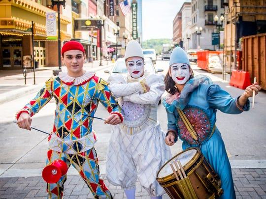 "Cirque du Soleil's touring show ""Corteo"" will be Thursday through Sunday at Knoxville's Thompson-Boling Arena."
