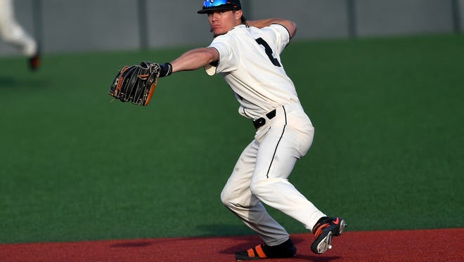 Oregon State shortstop Cadyn Grenier is the Pac-12 Defensive Player of the Year.