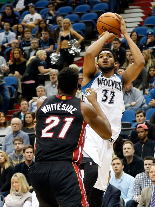 Karl-Anthony Towns, Hassan Whiteside