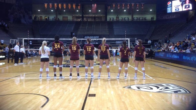 No. 17 ASU volleyball won 15-13 in the fifth set Friday to escape with a 3-2 win over Colorado in Boulder.