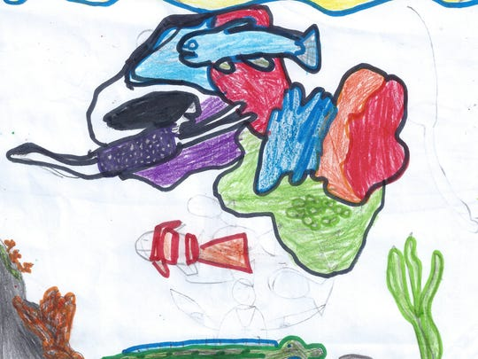 If I could change anything, I would make people be able to breathe underwater. But I would have to ask scientists first to help me do it. I would do this so people do not drown.  Dusty Newcomb  Grade 3, Highland Elementary School