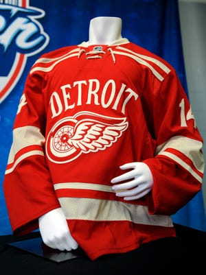 Red Wings jersey