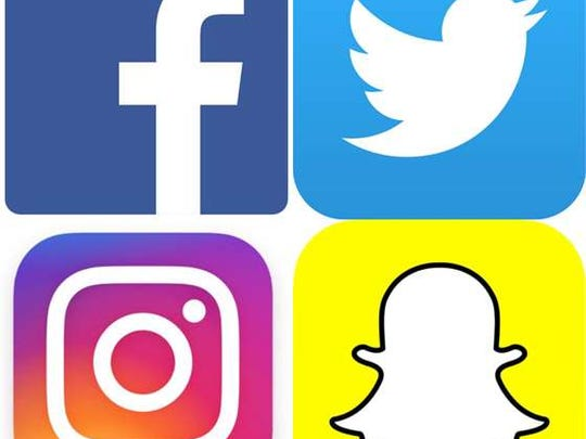 The four dominant social media network (Photo: Facebook/Twitter/Instagram/Snapchat)