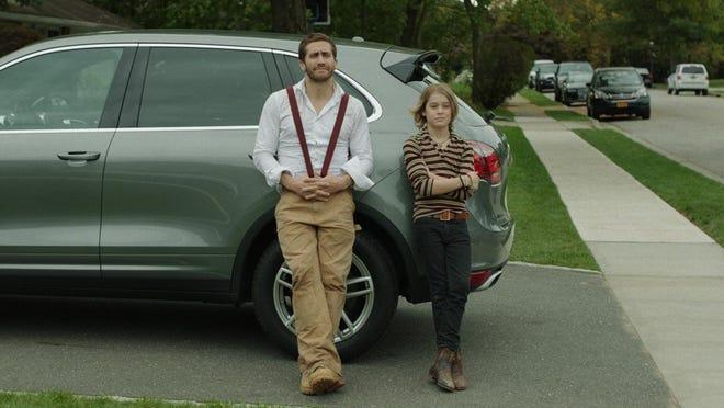 """Jake Gyllenhaal and Judah Lewis in """"Demolition."""""""