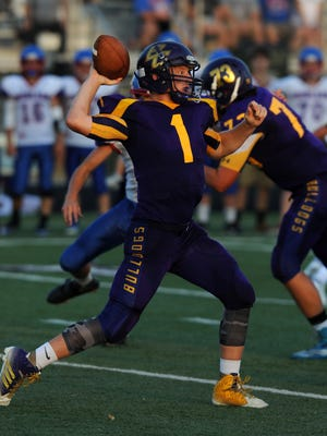Bloom-Carroll senior quarterback Justin Harvey accounted for 368 total yards in a 31-21 win over Highland in Week 1.