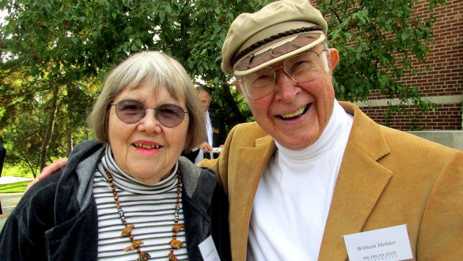 Bill and Lee Helder have been major influences in the Lansing arts community. Bill died on Aug. 29 at the age of 85.