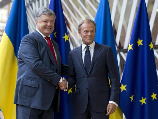 Petro Poroshenko,Donald Tusk