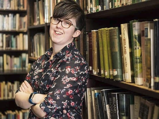 Journalist Lyra McKee, 29, was shot and killed when guns were fired during clashes with police Thursday night April 18, 2019, in Londonderry, Northern Ireland.
