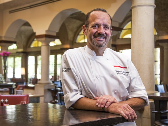Alex Stratta is back in the Valley as the chef de cuisine