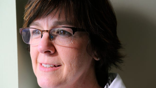 Audiologist MaryRose Hecksel, now 50, experienced a heart attack at the age of 39.
