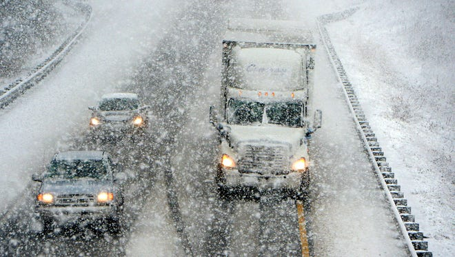 Motorists are facing challenging conditions on our interstates as a worse than predicted winter storm moves in.