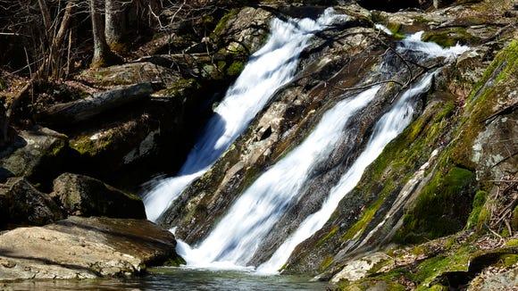 Jones Run Falls located in the Shenandoah National
