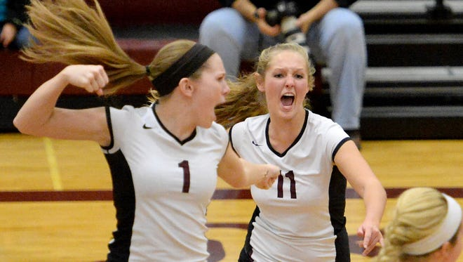 Stuarts Draft's Deborah Black and Macy Johnson will be returning to the team this season. Black and Johnson are just two of 10 returners for the Cougars, which are only replacing two seniors.