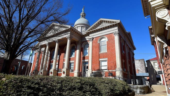 Mike Tripp/The News Leader The Augusta County Courthouse located in downtown Staunton as photographed on Jan. 16.