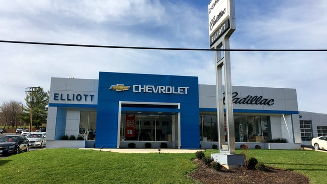 Elliott Chevrolet Cadillac located on Greenville Avenue in Staunton.