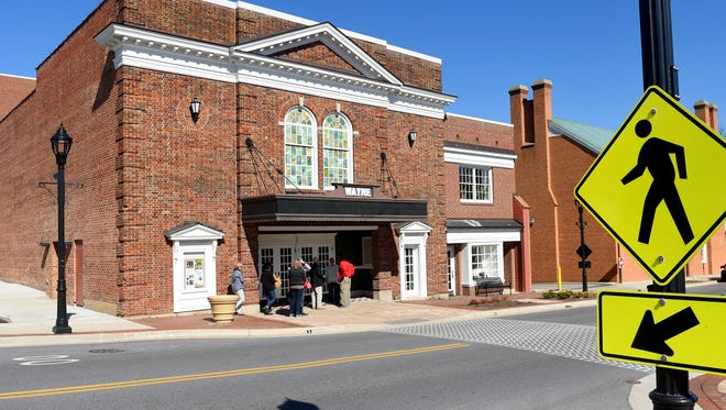 The Wayne Theatre/Ross Performing Arts Center in Waynesboro on Monday, Feb. 29, 2016.