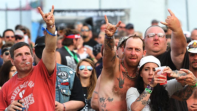 Rock USA returns to Ford Festival Park Thursday through Saturday, featuring Five Finger Death Punch, Disturbed, Slipknot and Alice in Chains.