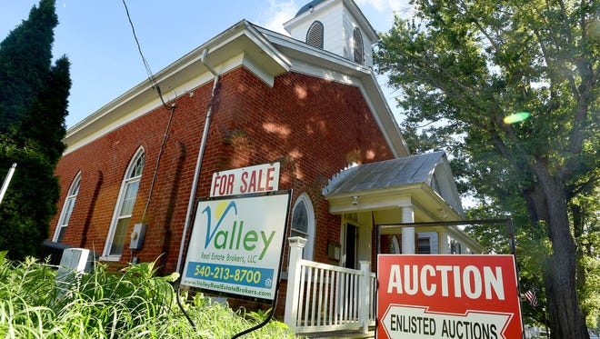 The former All Saints of North America Russian Orthodox Church located at 3648 Middlebrook Village Road in Middlebrook is currently up for auction, which ends August 17.