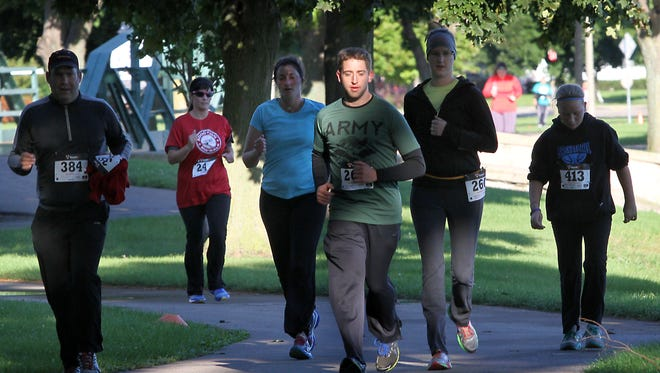 The Solutions Recovery Center hosted the Re:Think Addiction Run/Walk through Menominee Park in this file photo. This year's run is Saturday, Sept. 10.