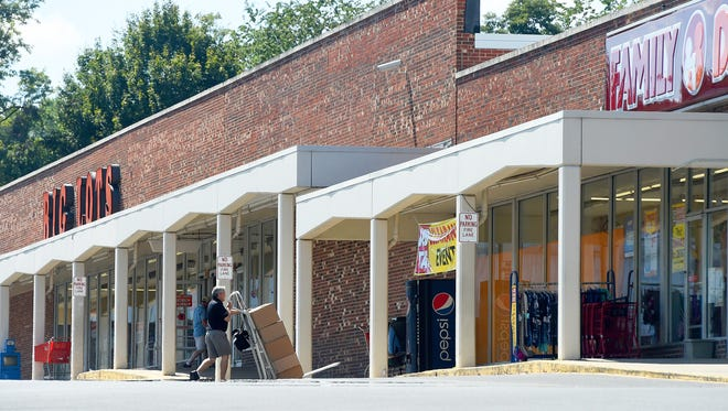 Big Lots and Family Dollar are currently two of the businesses located at Chestnut Hills Shopping Center in Staunton on Wednesday, Sept. 14, 2016.