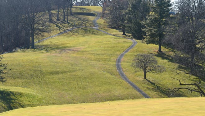 Gypsy Hill Park golf course.