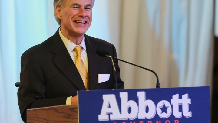 Governor Greg Abbott was the speaker at the El Paso