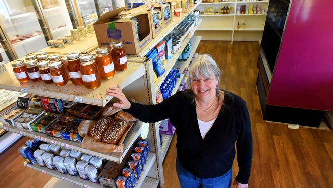 Owner Denise Marshall is photographed inside her business, The Market at Draft,  on Wednesday, March 8, 2017. The store is located at 2400 Stuarts Draft Highway in Stuarts Draft.