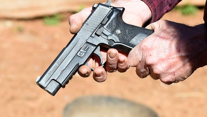 The Sig Sauer P226, 9mm is a popular model among handgun owners.