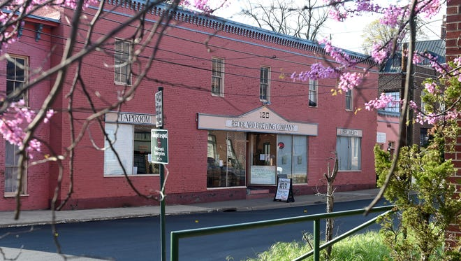 Redbeard Brewing Company is located at 120 South Lewis Street in downtown Staunton.